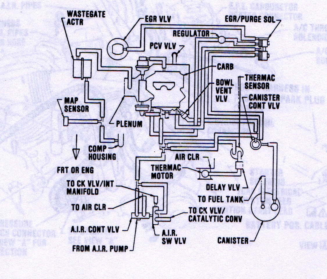 1978 buick regal vacuum diagram data set 1984 Buick Regal 1978 Buick Regal